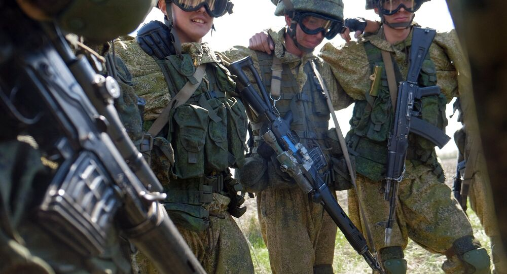 Servicemen of a special forces. (File)