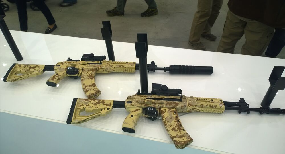 AK-15 and AK-12