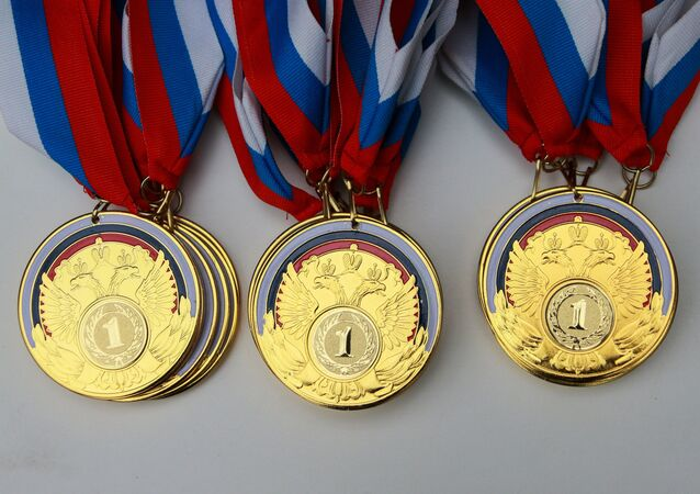 Medals at the Russian Paralympic competition