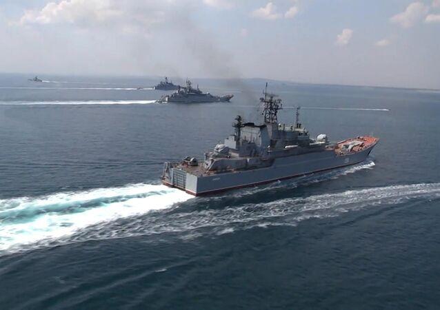 Black Sea Navy Fleet and the Caspian Flotilla