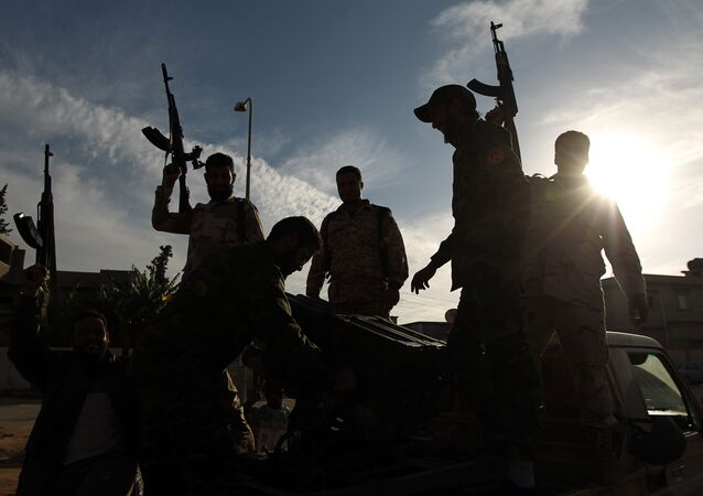 Libyan troops loyal to Gen. Khalifa Haftar. (File)