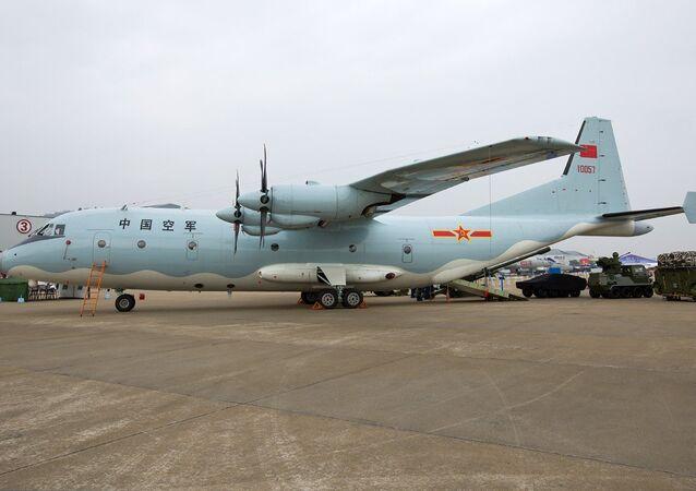 Shaanxi Y-9 aircraft