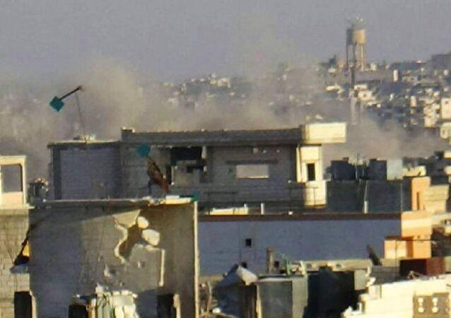 Syrian cities Kafriya and Fu'ah