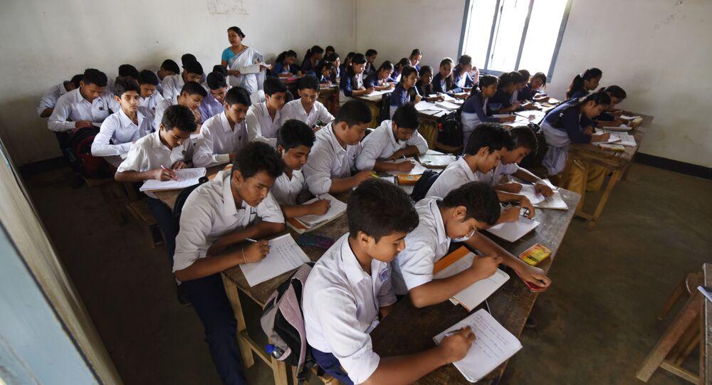 Indian school. (File)