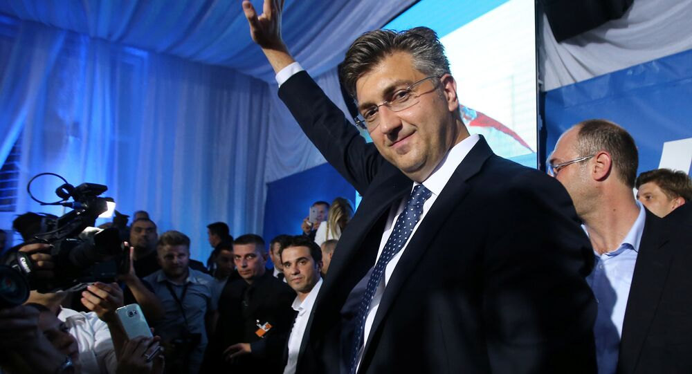 Croatia's ruling party wins parliamentary elections