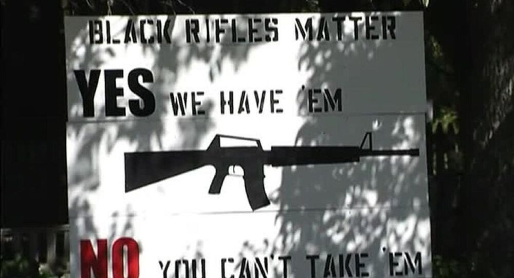 'Black Rifles Matter' Sign Causes Controversy in Maine