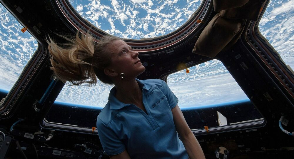 Karen L. Nyberg, the 50th woman in space