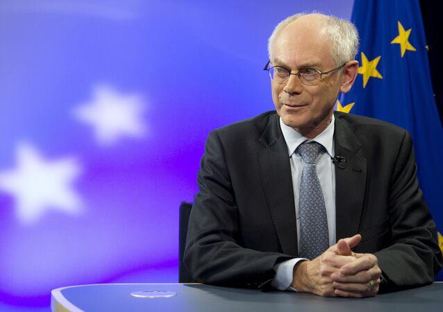 Former European Council President Herman Van Rompuy