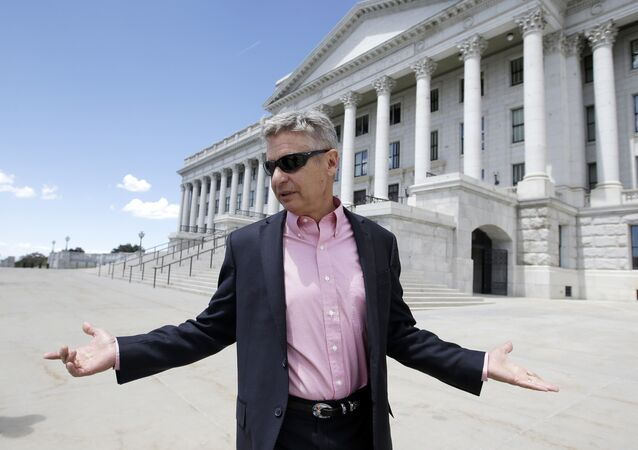 Libertarian Presidential Candidate Gary Johnson