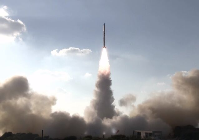Launch of Israel's Ofek-11 reconnaissance satellite