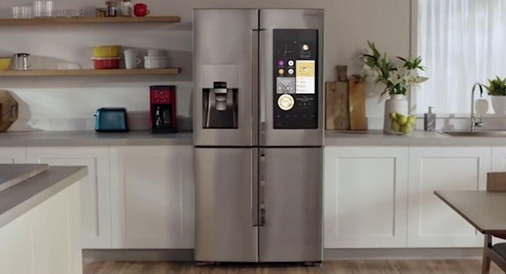SAMSUNG Family Hub SMARTEST Refrigerator