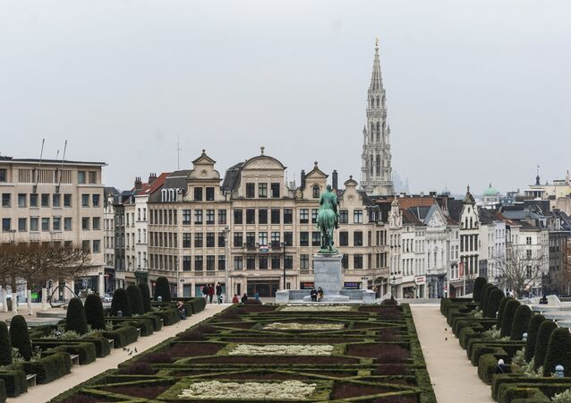 World cities. Brussels