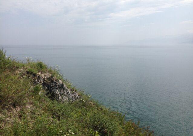 At the Lake Baikal