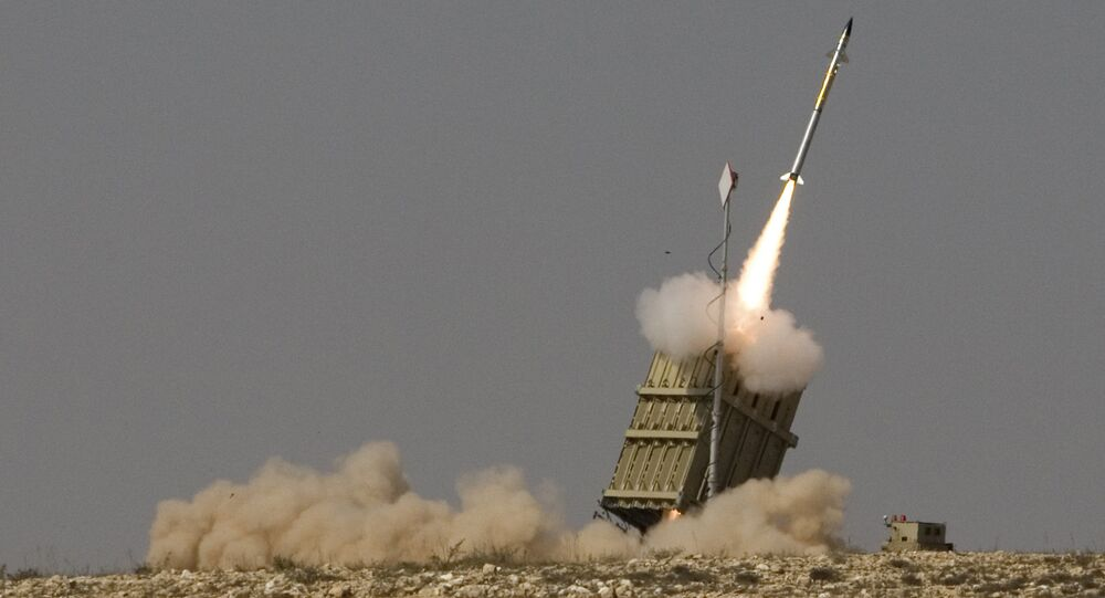 Rocket is launched from a new Israeli anti-missile system known as Iron Dome. (File)