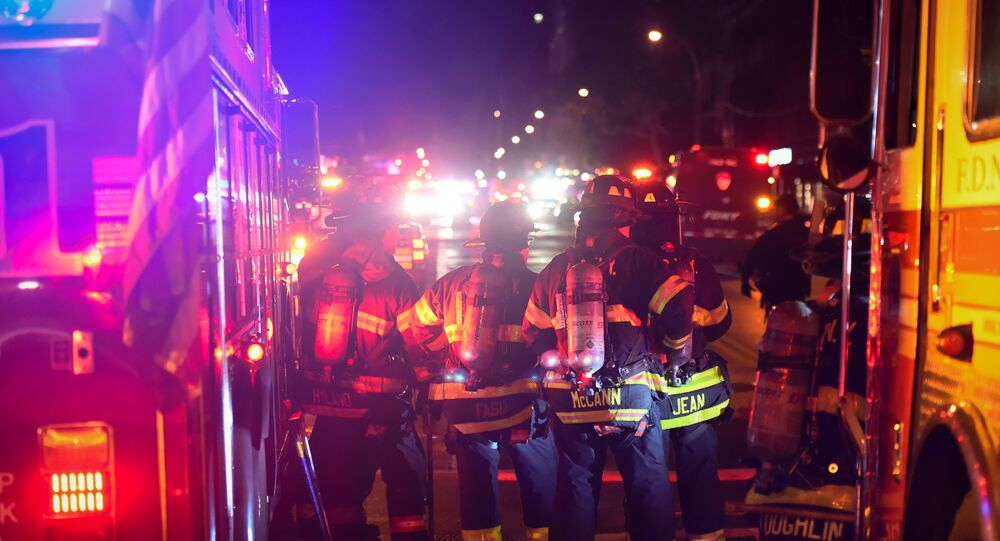 Fire Department and Police Respond to Manhattan Explosion/Attack