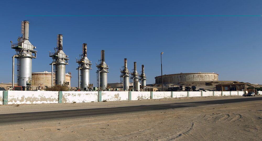 General view at the Zueitina oil terminal. (File)