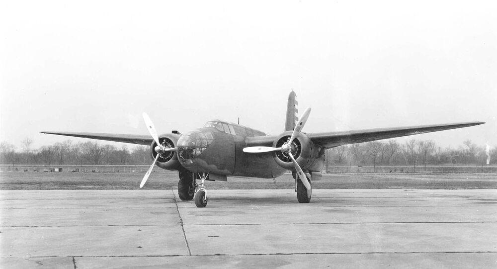 Douglas A-20A. (File)