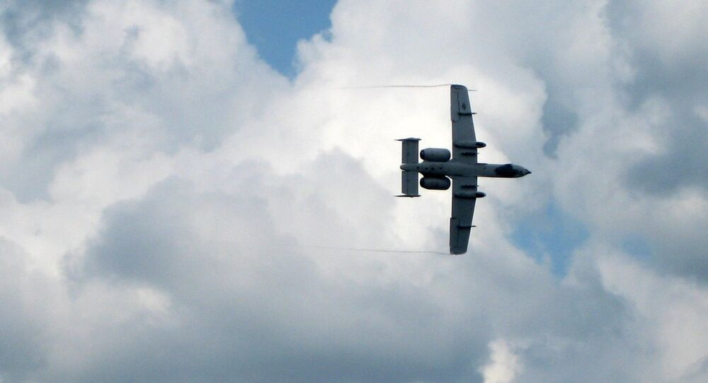 A-10 ground attack aircraft