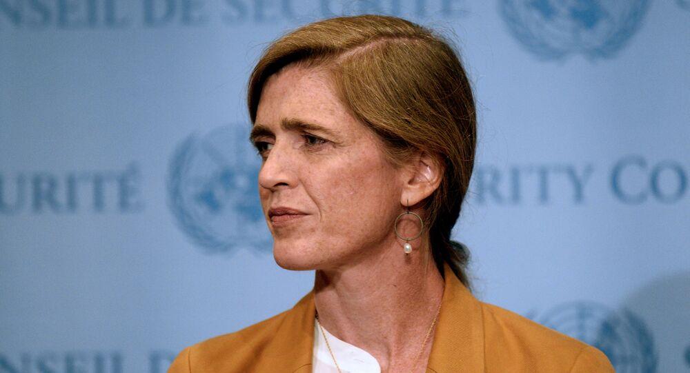 US Ambassador to the United Nations, Samantha Power