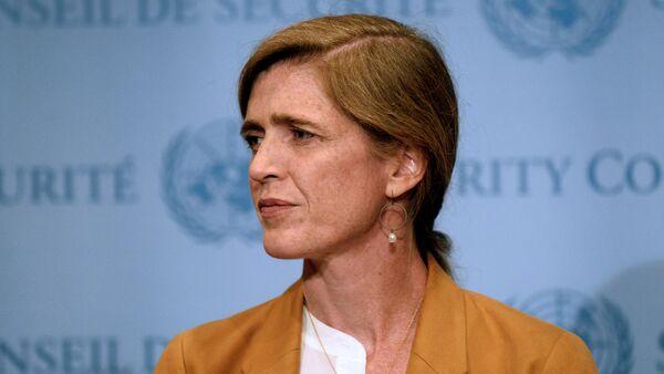 US Ambassador to the United Nations, Samantha Power - Sputnik International