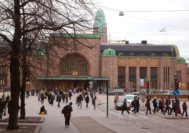 World cities. Helsinki