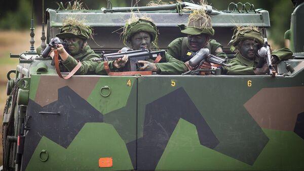 Swedish soldiers (photo used for illustration purpose) - Sputnik International