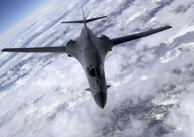 B-1B Lancer over Nevada