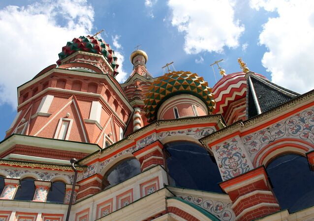 St Basil's Catedral, Red Square, Moscow