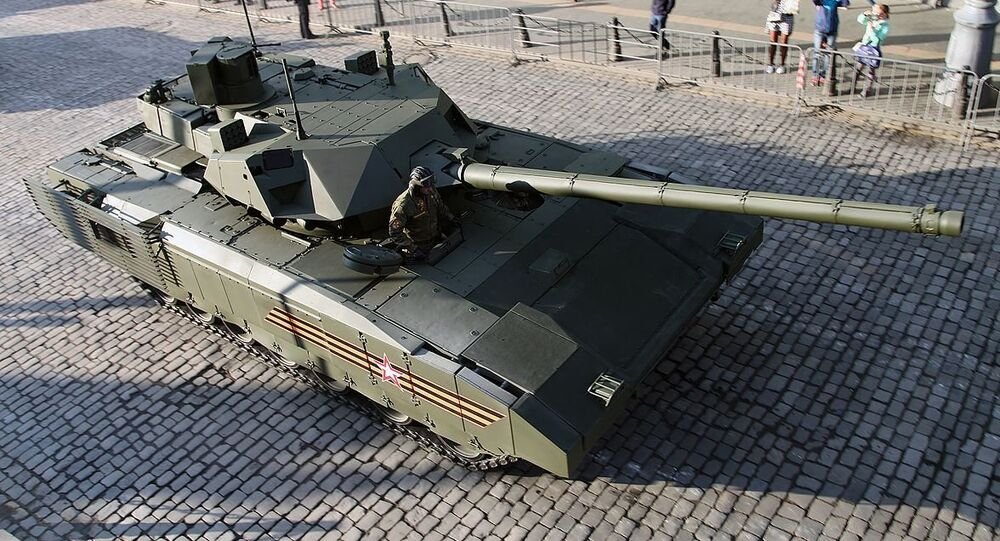 Main battle tank T-14