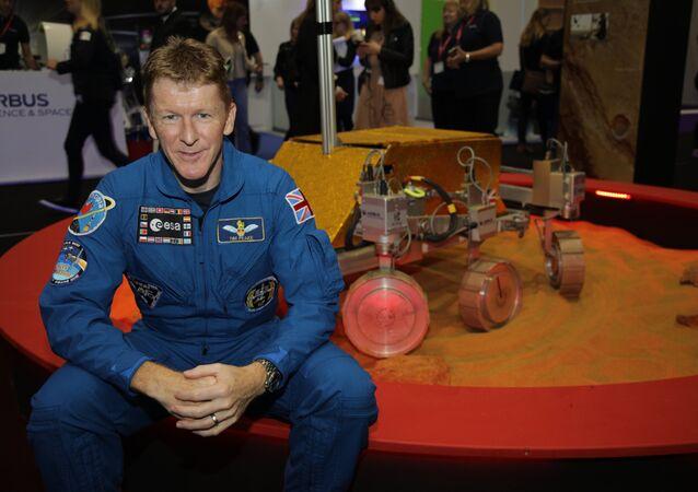 British astronaut Tim Peake