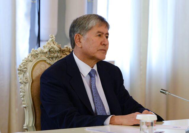 President of Kyrgyzstan Almazbek Atambayev (File)