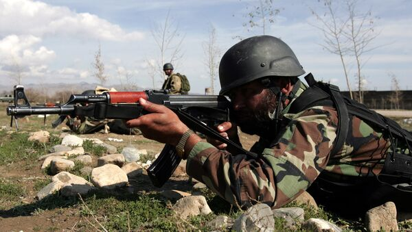 Soldiers of special forces of Pakistan army training (File) - Sputnik International