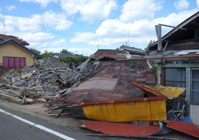 The sights of Fukushima exclusion zone