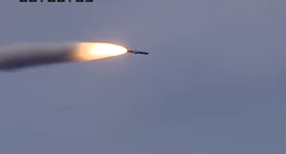 BrahMos missile test launch