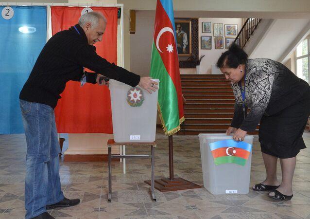 Preparing for election in Azerbaijan
