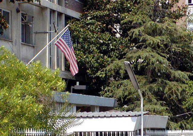 U.S. Consulate in Adana, Turkey. (File)