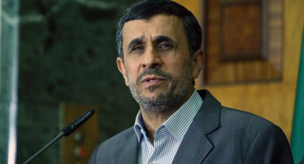 Iran's former leader Mahmoud Ahmadinejad
