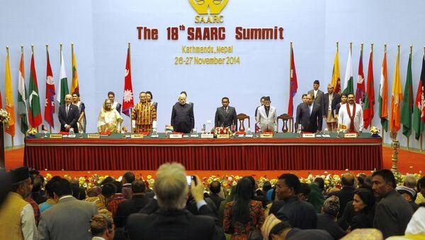 18th South Asian Association for Regional Cooperation (SAARC) summit in Kathmandu on November 26, 2014 - Sputnik International