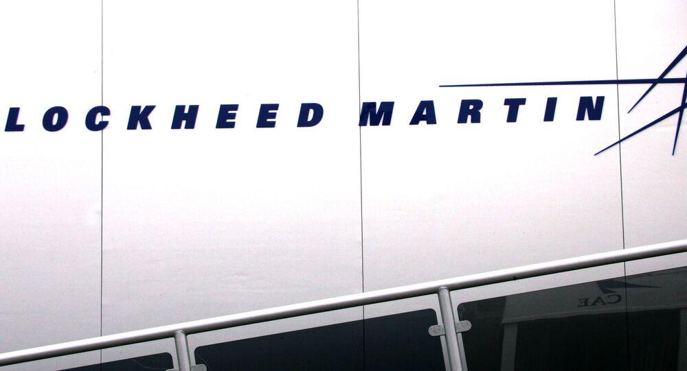 Logo of US group Lockheed Martin