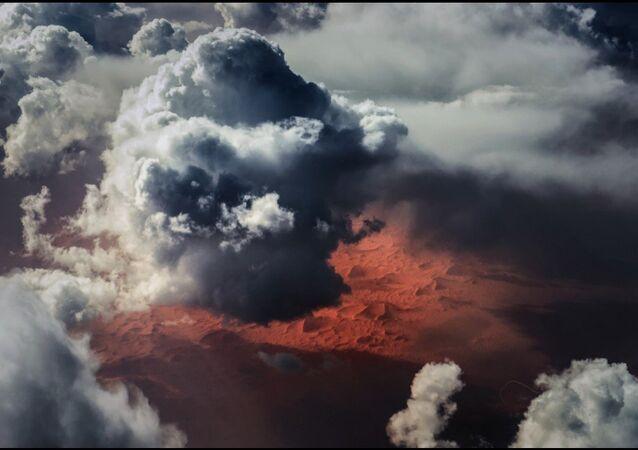 Clouds over the Sahara