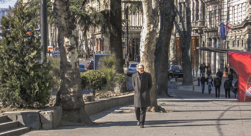 Tbilisi, Rustaveli avenue