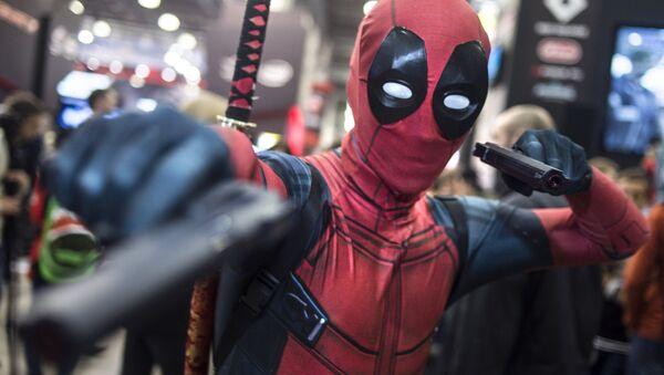 Konstantin as Deadpool, a character from Marvel universe - Sputnik International