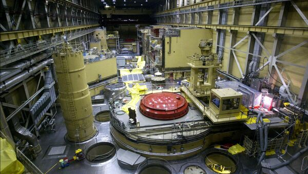 A general view of the reactor block No.2 in the nuclear power station of Paks at about 120kms south from Hungarian capital Budapest (File) - Sputnik International