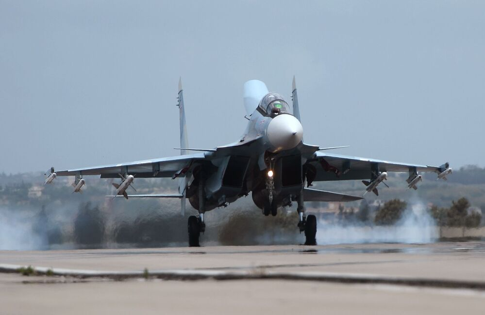 First Year of Russian Airborne Operation in Syria