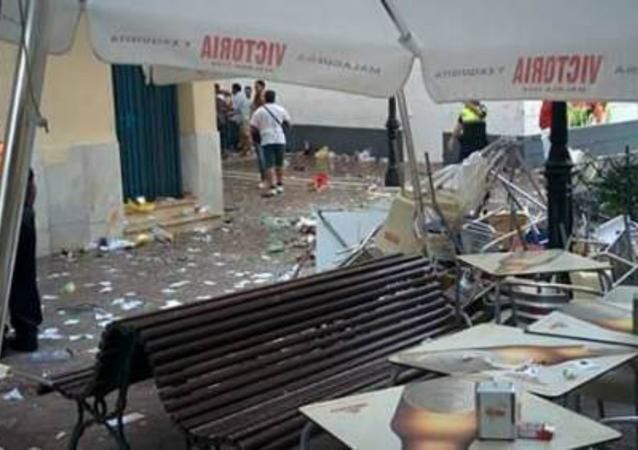 Velez-Malaga explosion