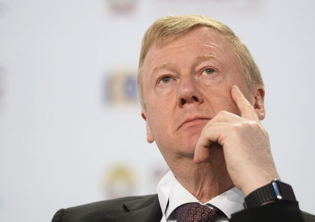 Anatoly Chubais, Chairman of the Executive Board of the Rusnano state corporation