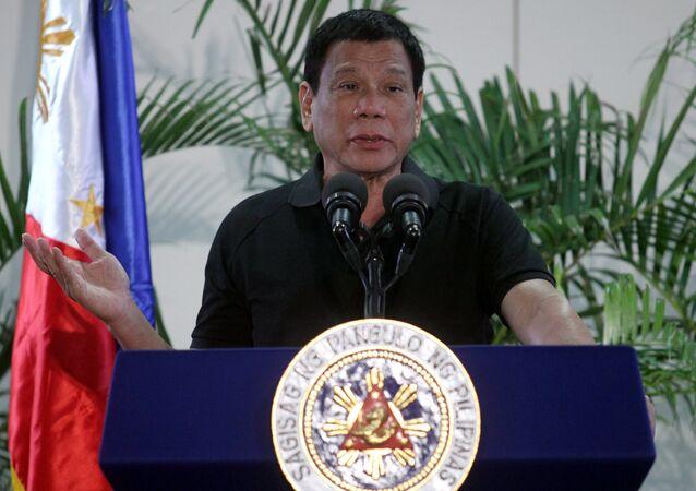 Philippines President Rodrigo Duterte (File)