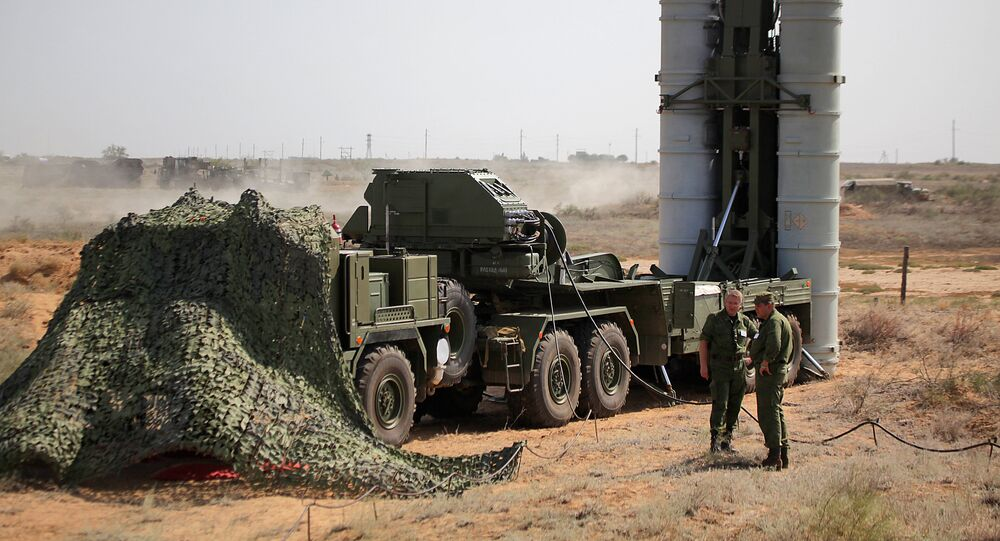 Aerospace Defence Forces tactical drill with combat firing