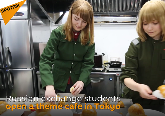 Maid in Tokyo: Visit Unique Soviet Cosplay Cafe in Japan