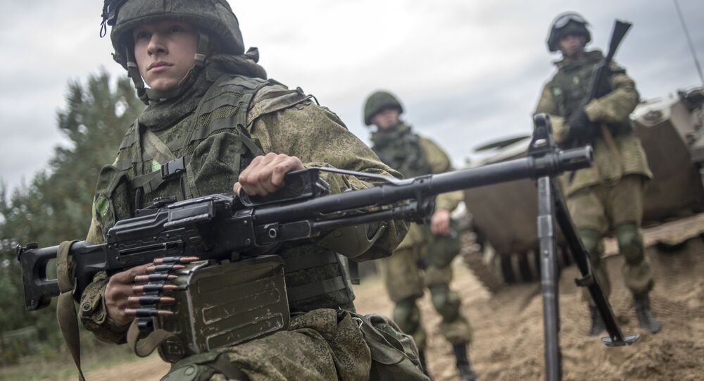 Russian Airborne Forces. (File)